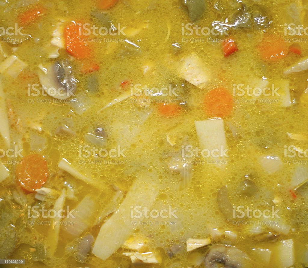 Yummy Soup royalty-free stock photo