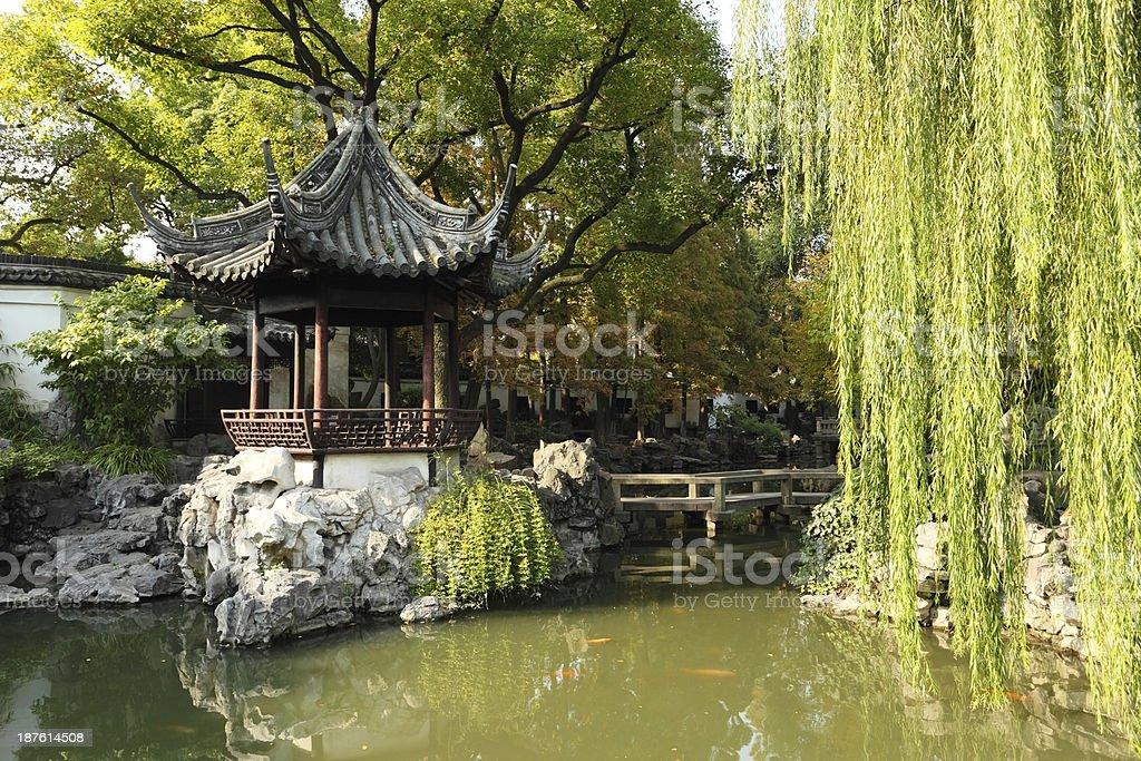 Yuyuan Garden in Shanghai, China stock photo