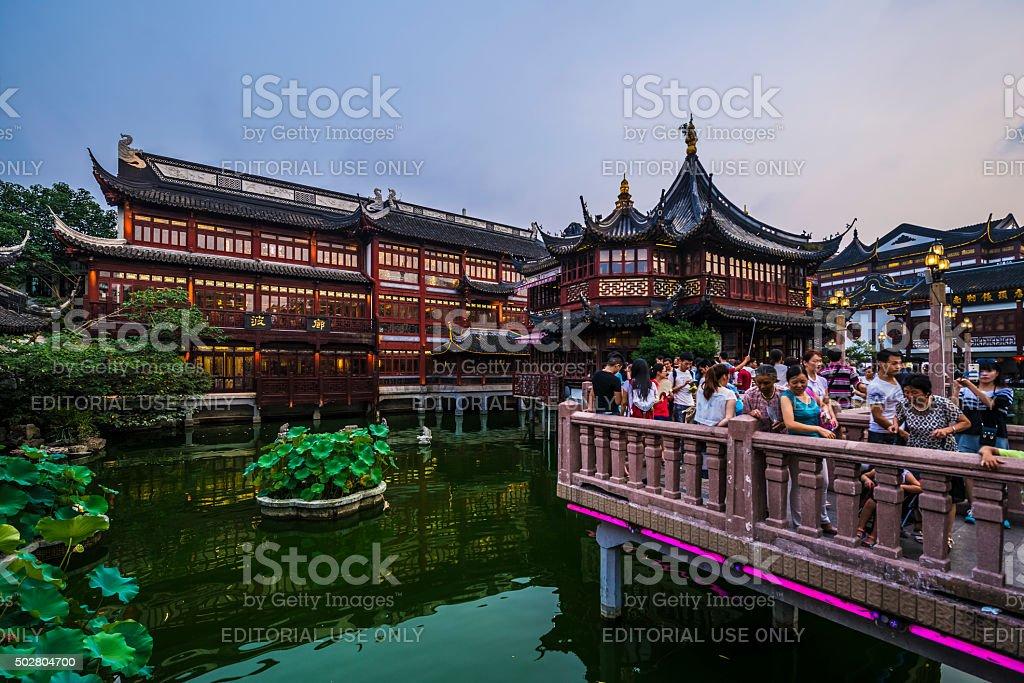 Yuyuan Gardens stock photo