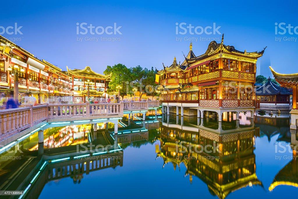 Yuyuan Shanghai stock photo