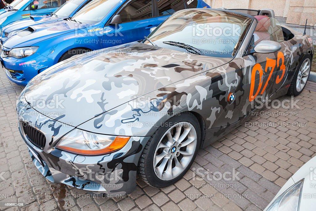 Photo De Stock De Bmw Z4 Roadster Voiture Avec Palette De Couleurs