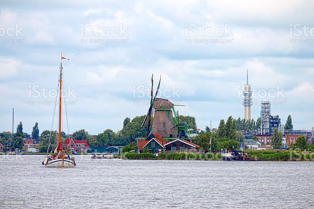 Zaandam, Netherlands Lizenzfreies stock-foto