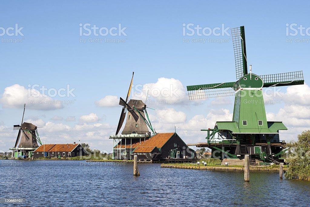 Zaanse Schans - Holland royalty-free stock photo