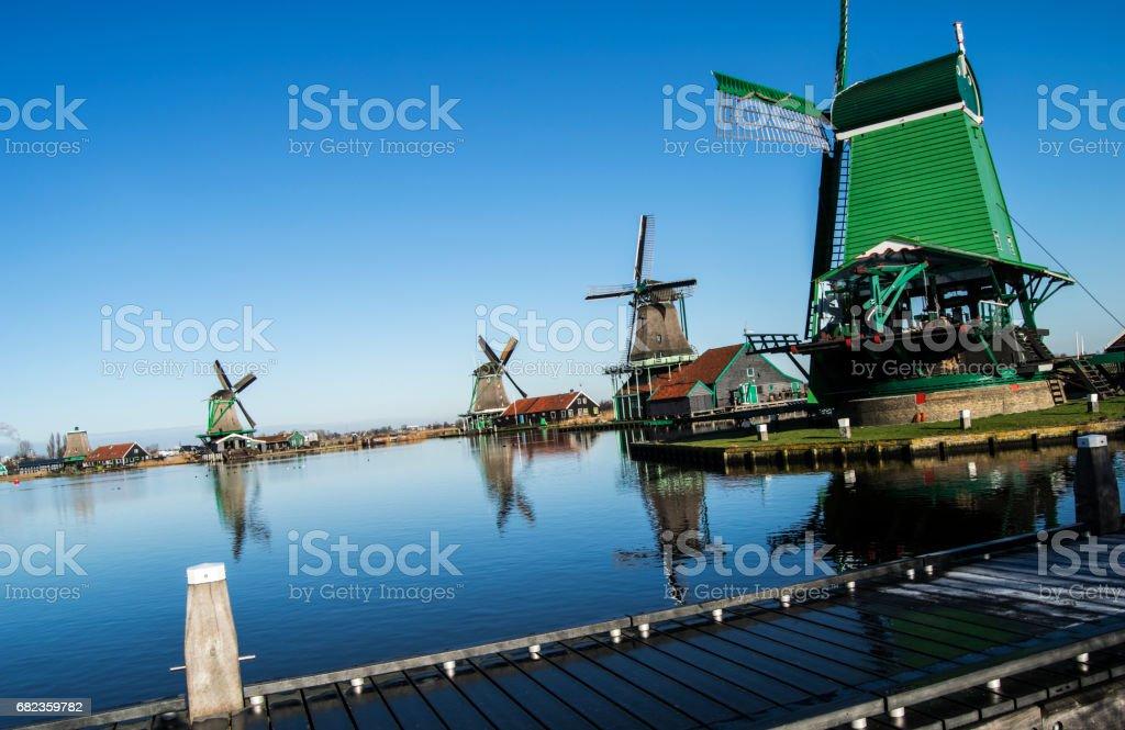 Zaanse Schans foto stock royalty-free