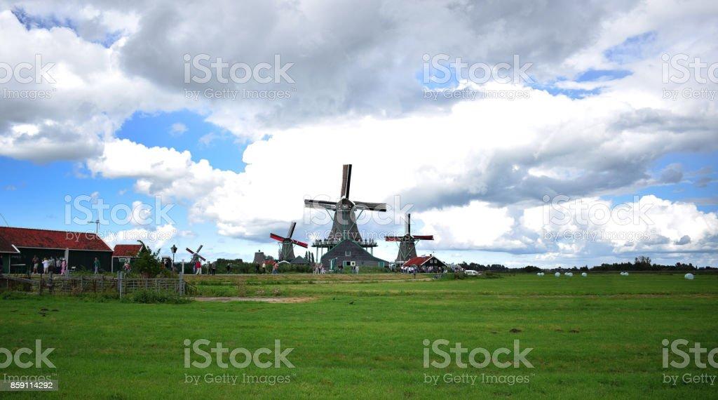 Zaanse Schans stock photo