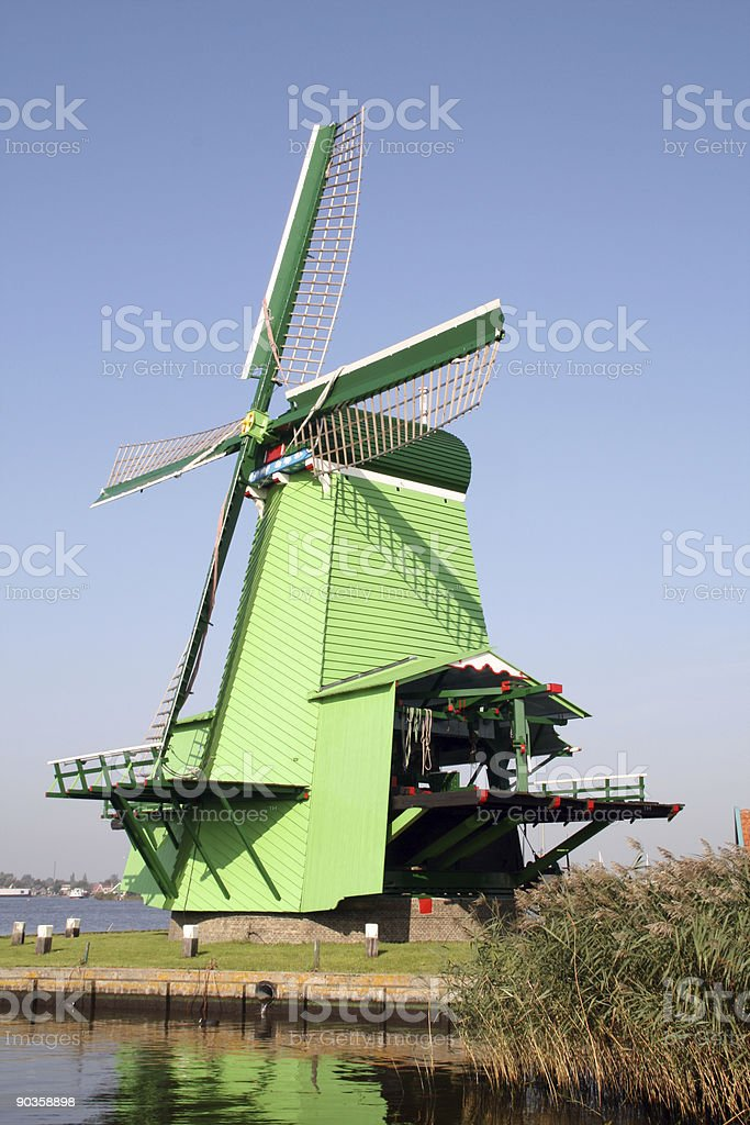 Zaanse Schans royalty-free stock photo