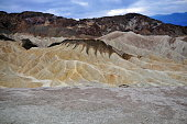 Zabriskie Point in California's Death Valley National Park, photographed on October 18, 2017.