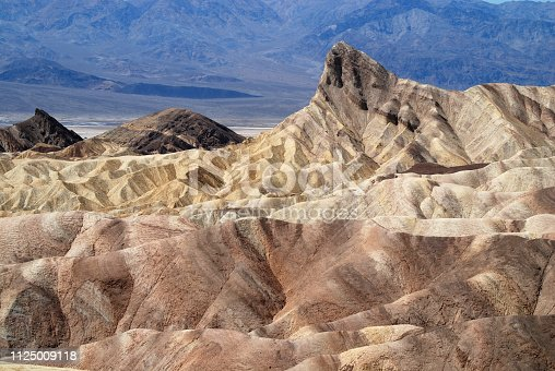 Erosion in Death Valley