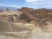 Zabriskie point in Death valley National Park, California, USA.