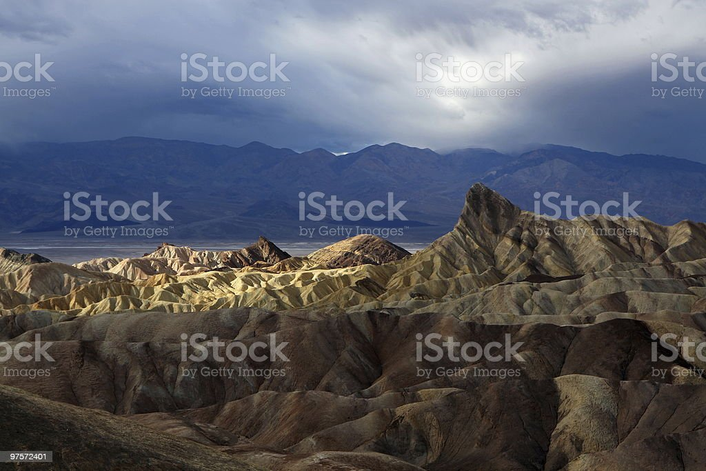 Zabriskie Point royalty-free stock photo