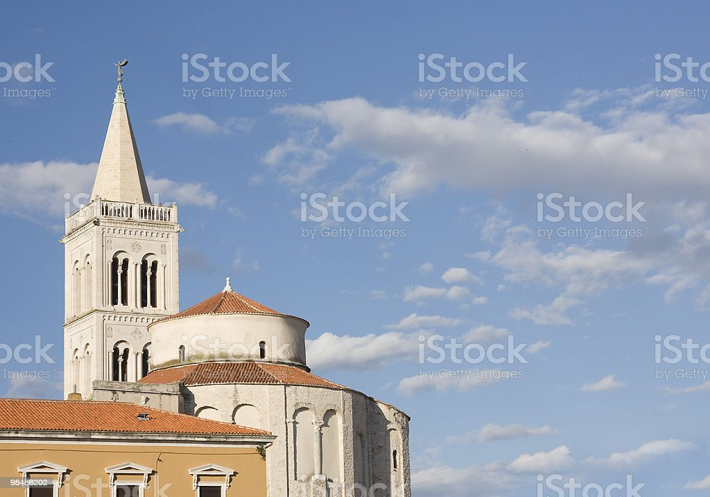 Zadar's sky royalty-free stock photo