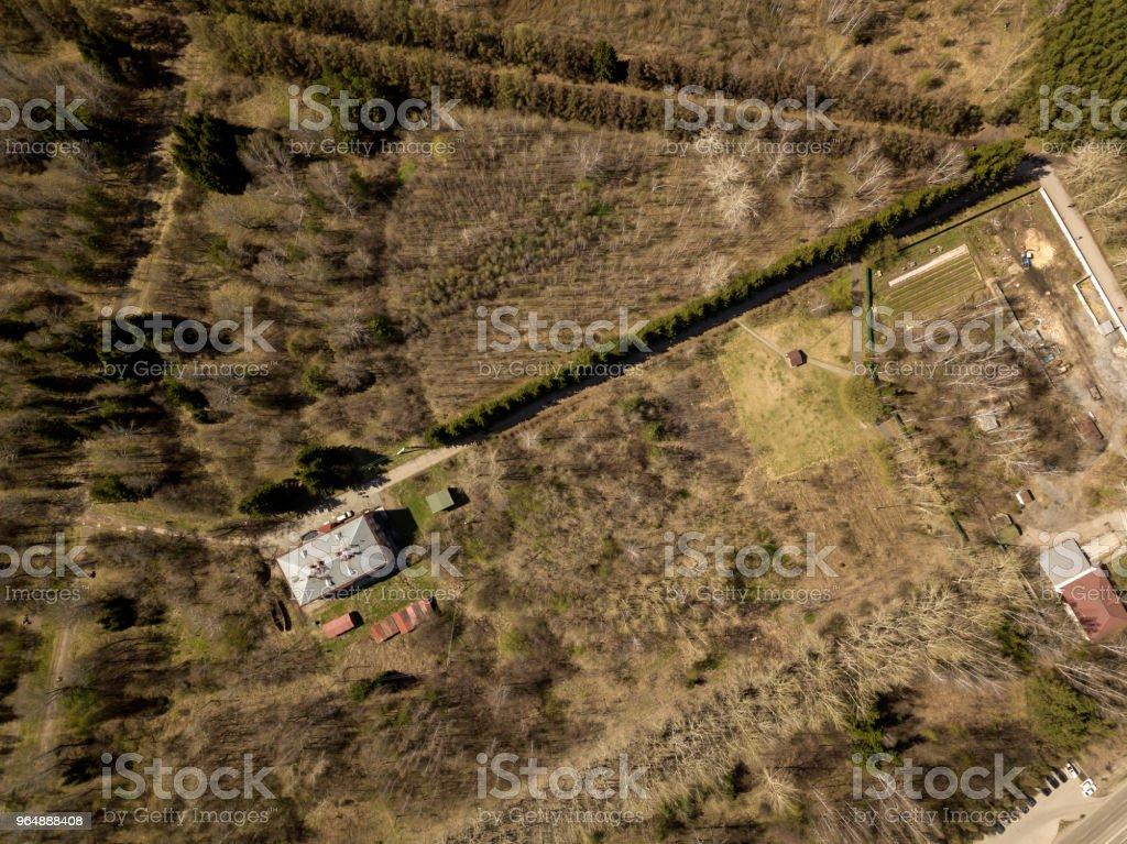 Zaelcovskiy park royalty-free stock photo