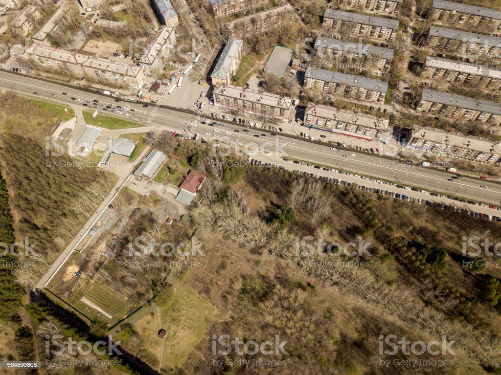 Zaelcovskiy 公園 - 免版稅交通圖庫照片