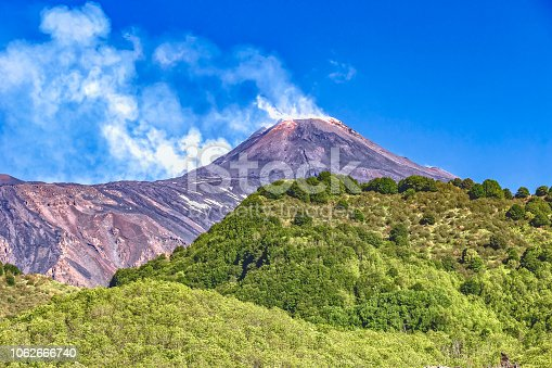 Zafferana Etnea - Vulkan Ätna - Sizilien