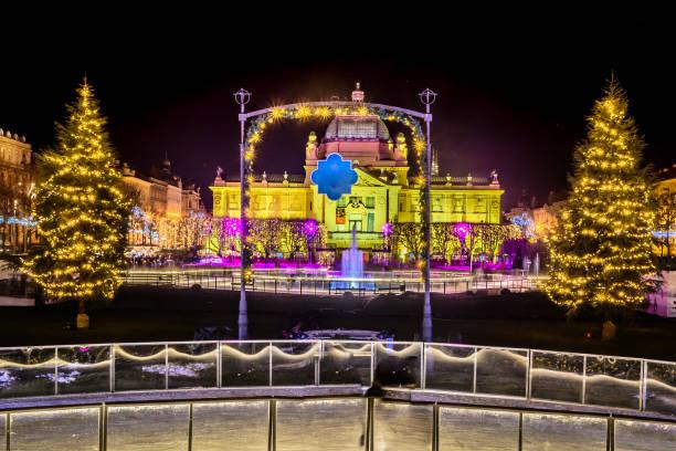 Zagreb Advent Weihnachtszeit. – Foto