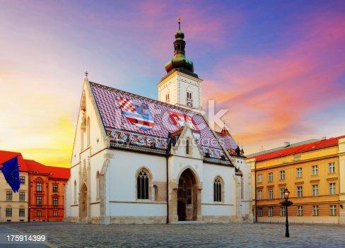 Zagreb church - St Mark