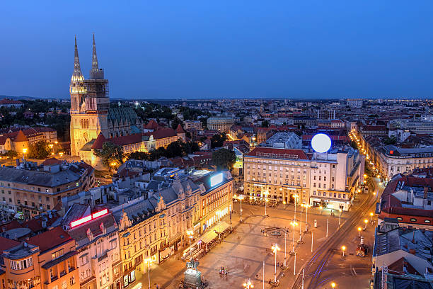 Zagreb, Kroatien – Foto
