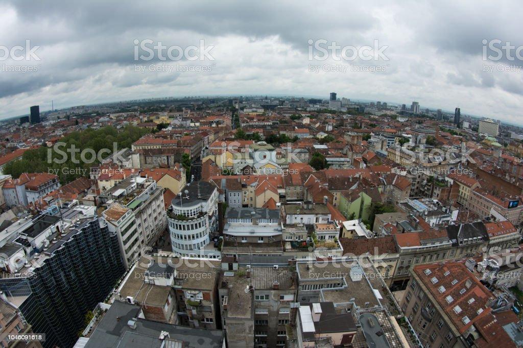 Zagreb stock photo