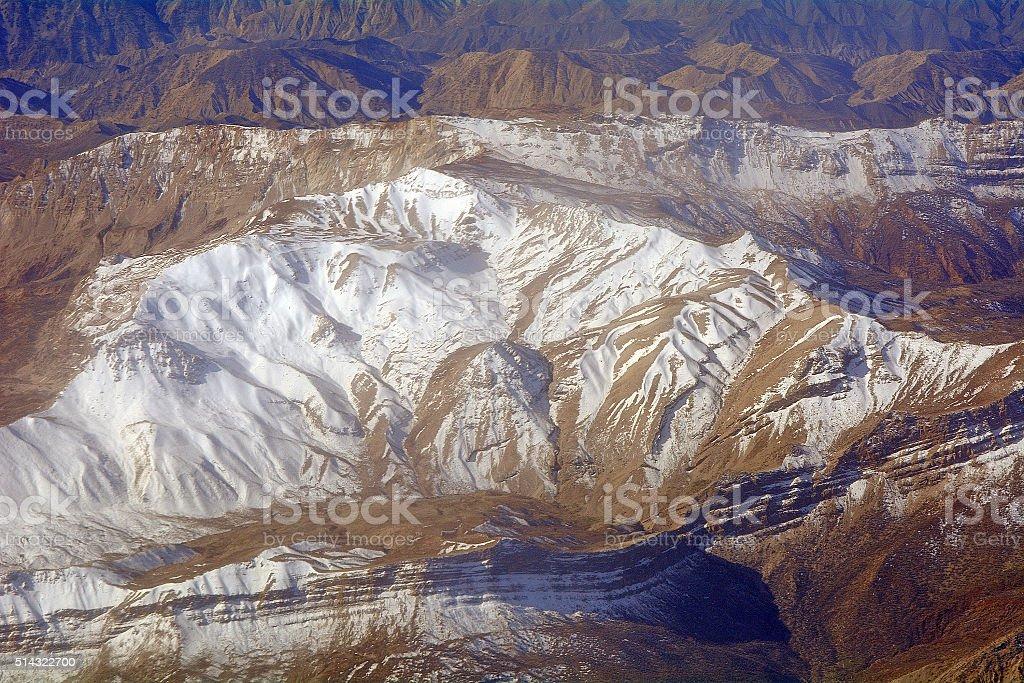 Zagros Mountains, Iran stock photo