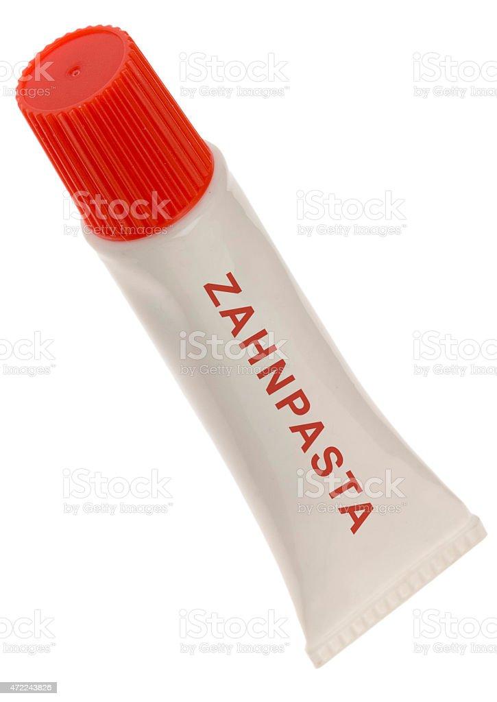 Zahnpasta Tube (noname) stock photo