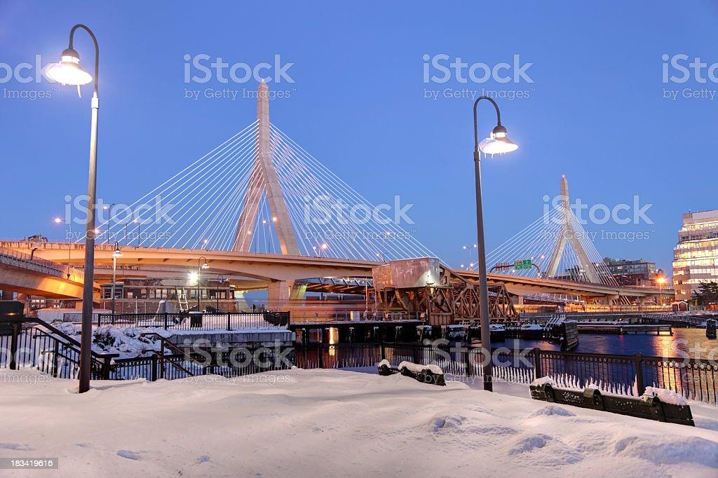 Zakim Bridge stock photo