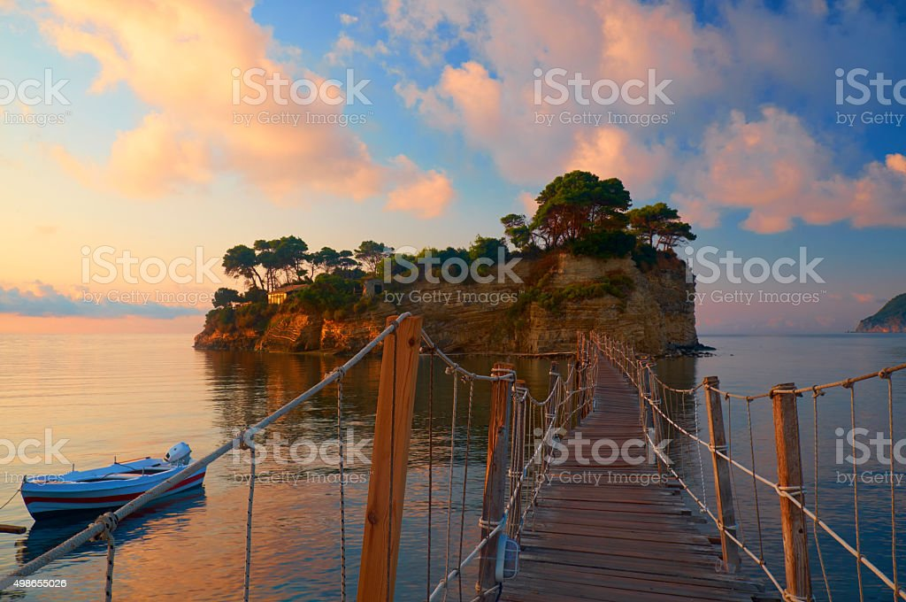 Zakynthos Scenic stock photo
