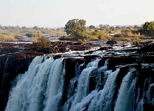 Zambezi river at Victoria Falls / Mosi-oa-Tunya