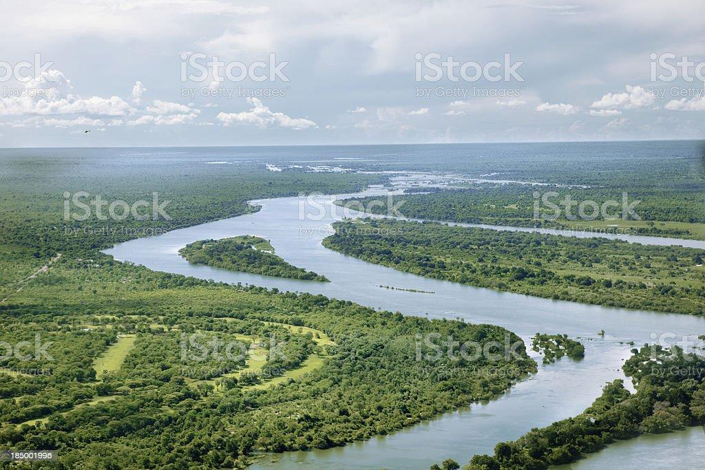zambezi river royalty-free stock photo