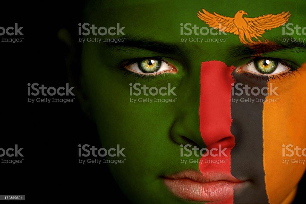 Zambia boy royalty-free stock photo