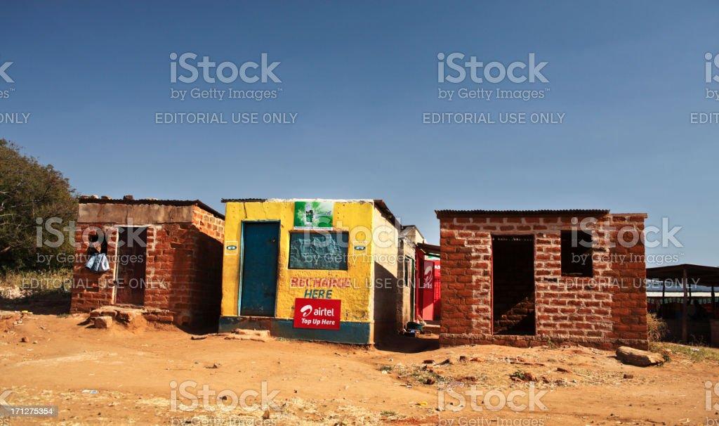 Zambia Countryside stock photo