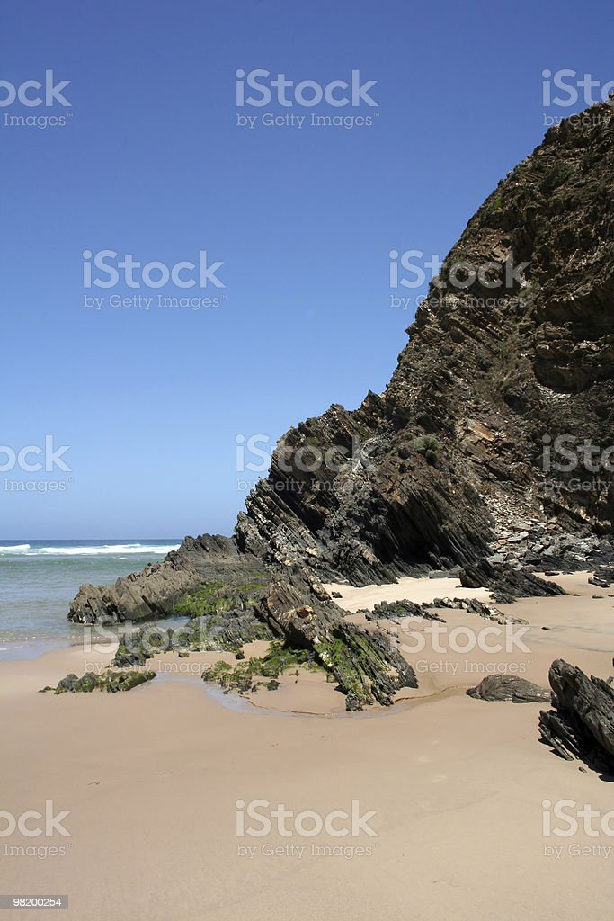 Zambujeira beach royalty-free stock photo