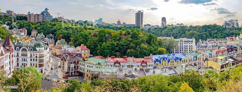 Zamkova Hora in Kiev, Ukraine. stock photo