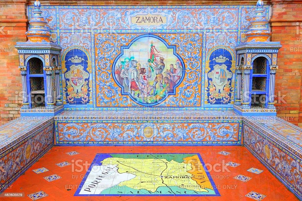 Zamora royalty-free stock photo