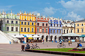 Zamosc city center, Poland
