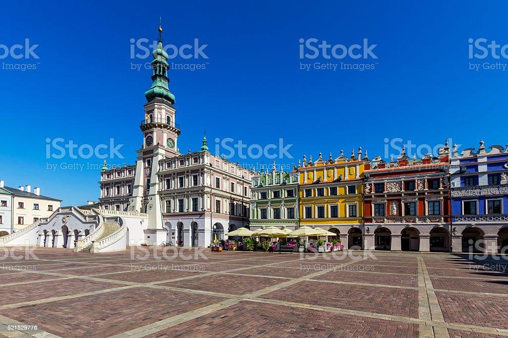 Zamosc - Renaissance town in Poland