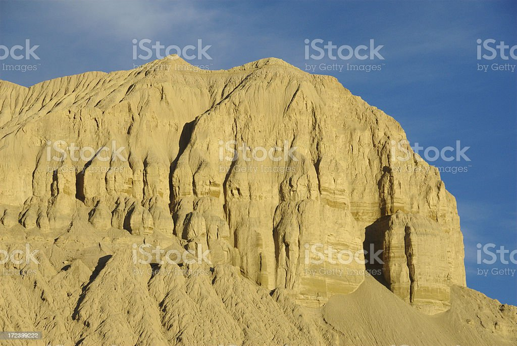 Zanda Clay Forest National Geopark (Tibet) stock photo