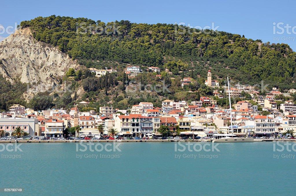 Zante city, Greece stock photo