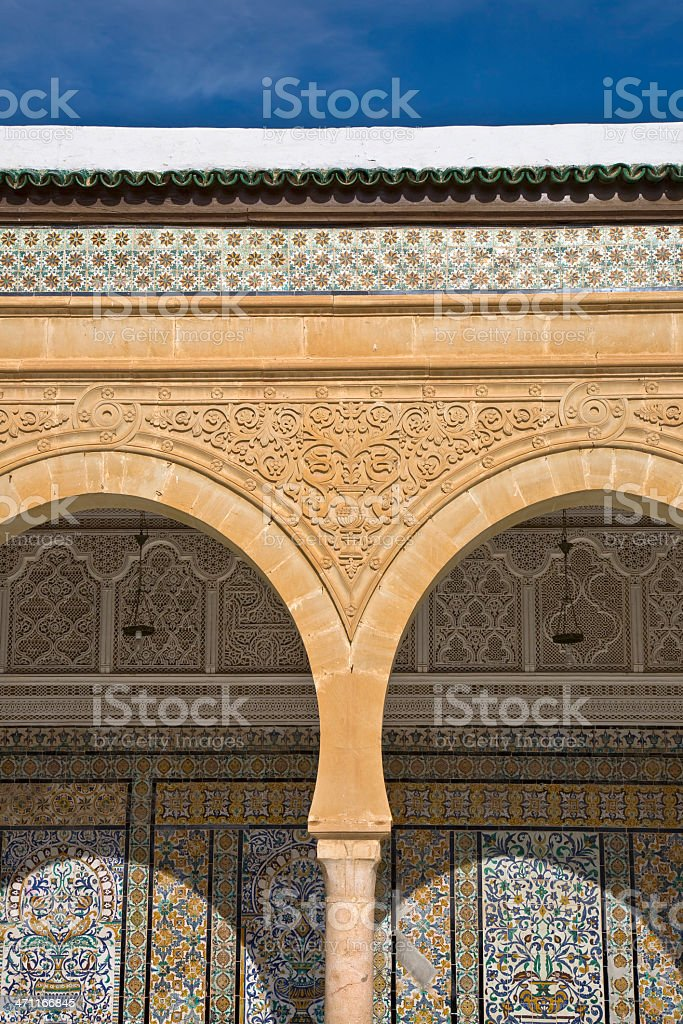 Zaouia of Sidi Saheb royalty-free stock photo
