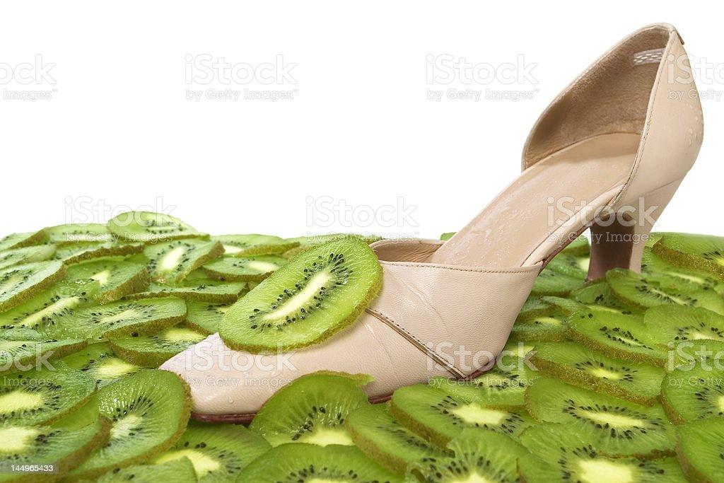 zapato de mujer royalty-free stock photo