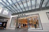 Melbourne Australia - November 28, 2018: Unidentified people visit Zara fashion store in Melbourne Australia