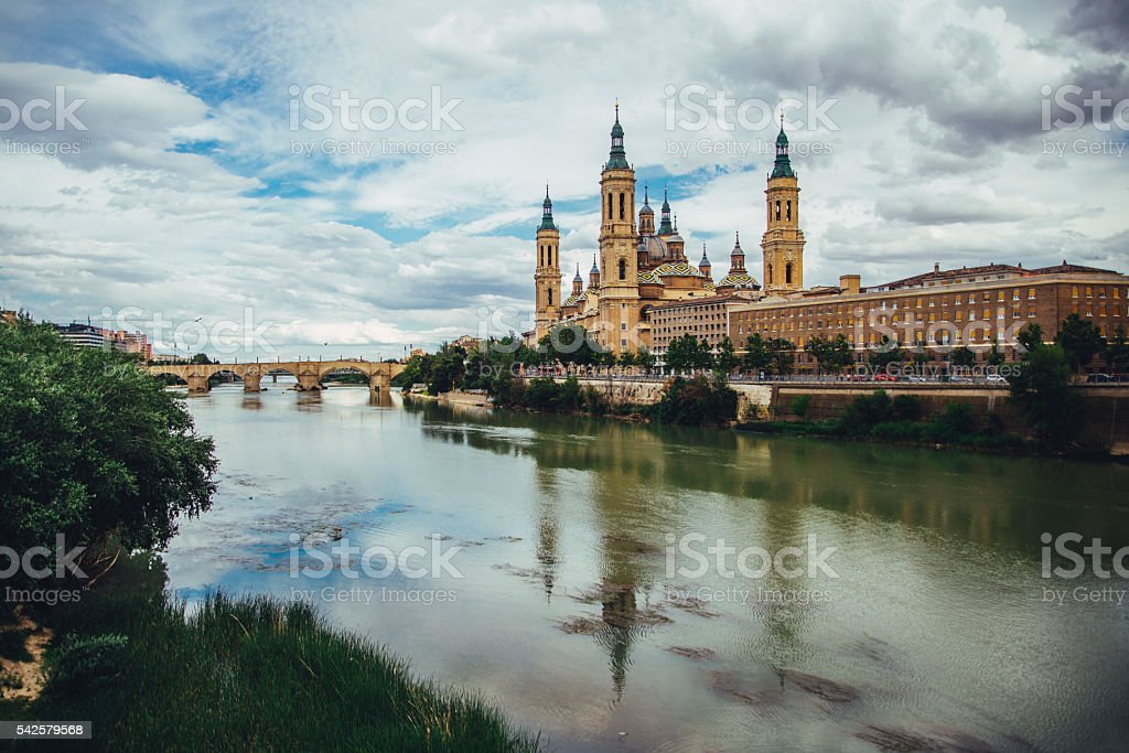 Zaragoza, Spain stock photo