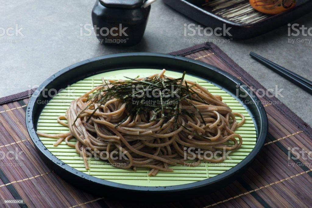 Zaru soba ramen - Royalty-free Asia Stock Photo