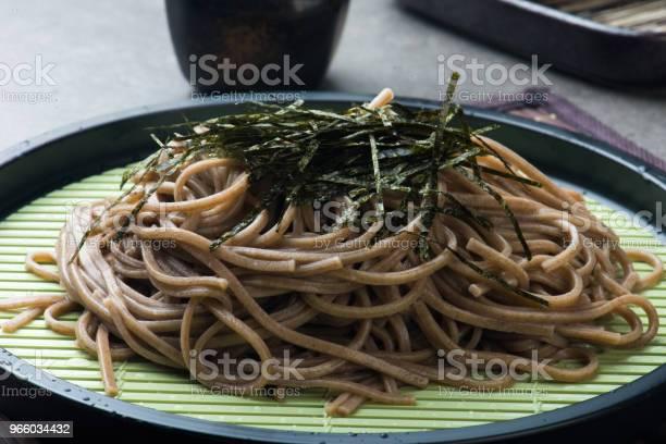Zaru Soba Ramen Stockfoto und mehr Bilder von Asiatische Nudeln