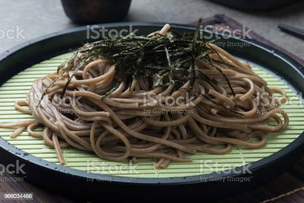 Zaru Soba Ramen - Fotografias de stock e mais imagens de Alga marinha