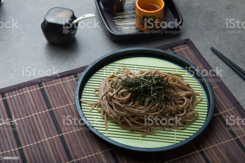 Zaru soba ramen - Royalty-free Asia Stock Photo