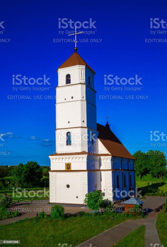 Zaslavl, Belarus, cathedral photo libre de droits