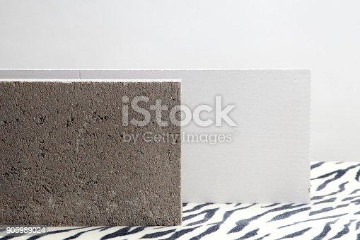 istock zebra concrete blocks 905989024