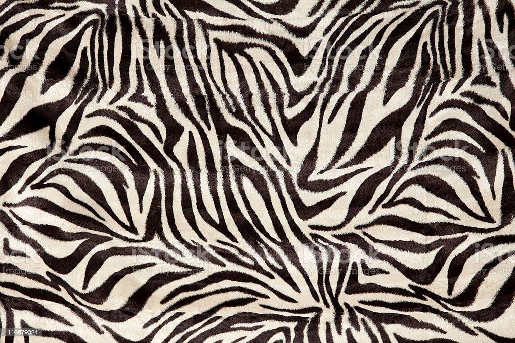 zebra skin fur stock photo