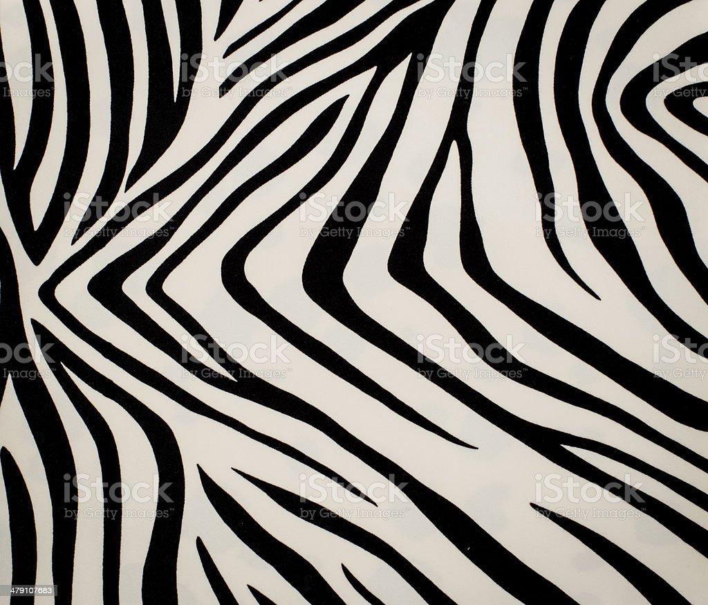 Zebra skin texture stock photo