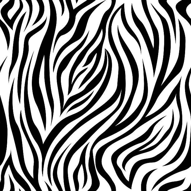 zebra padrão repetido - padrões zebra imagens e fotografias de stock
